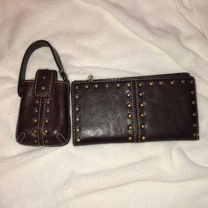 Handbags - Michael kors wallet and key holder